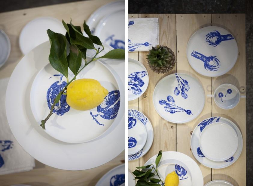 Salad ink e malconttenta i piatti diventano pezzi di - Pezzi di design ...