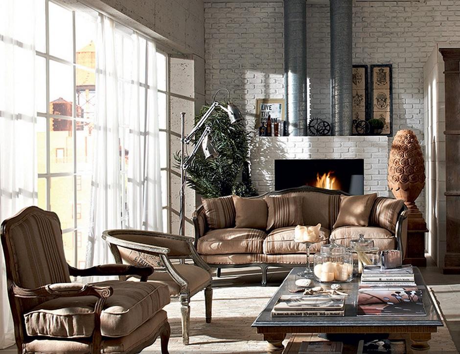 Stile urban per loft e case spaziose for Arredamento urban
