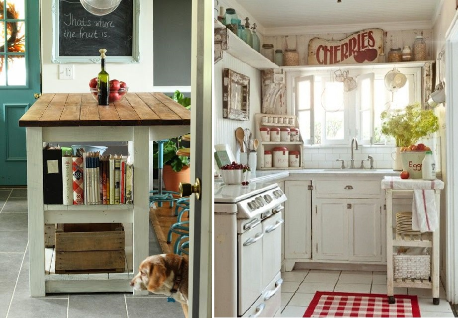 Come arredare la cucina in stile country for Arredare casa stile country chic