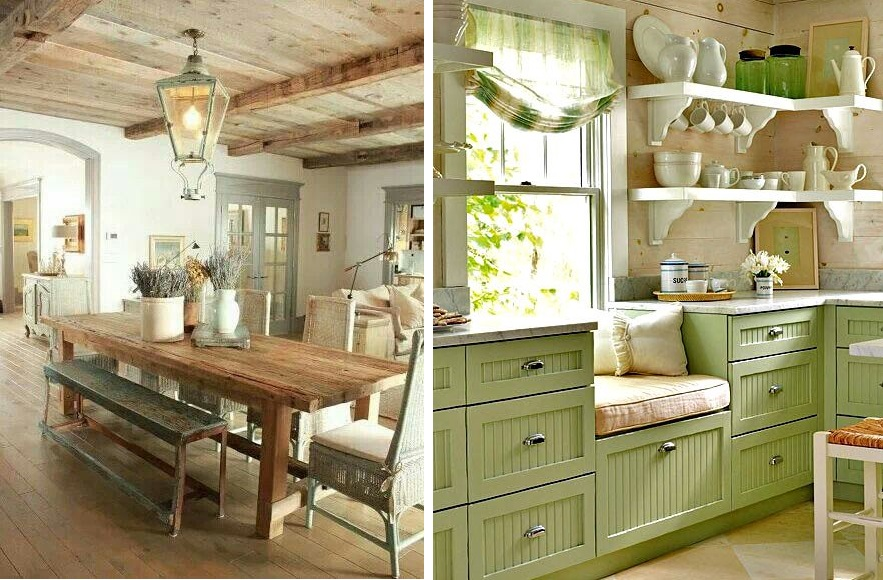 come arredare la cucina in stile country On arredare country
